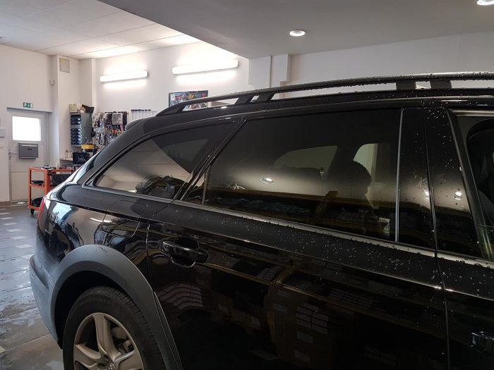 Audi A6 temnenje stekel